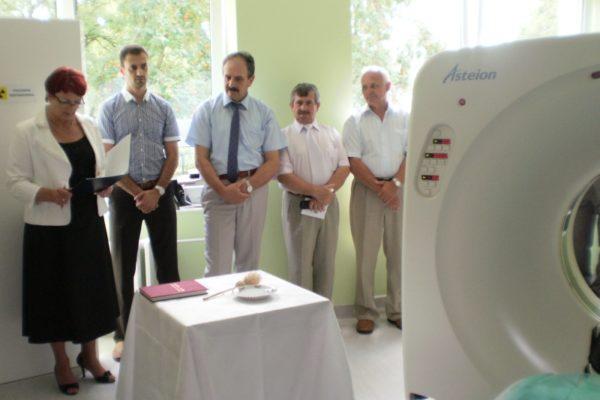Otwarcie pracowni tomografii komputerowej